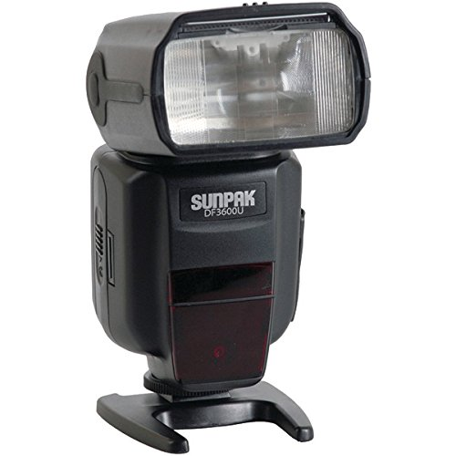 Sunpak DF3600U Flash for Canon and Nikon Cameras