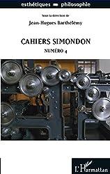 Cahiers Simondon: Numéro 4