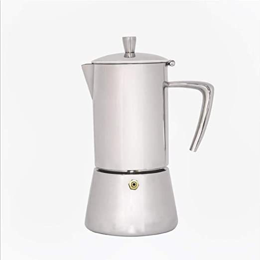 CIGONG Cafetera De Moca, Cafetera De Acero Inoxidable 304, Cafetera Italiana De Moca Concentrada cafetera: Amazon.es: Hogar