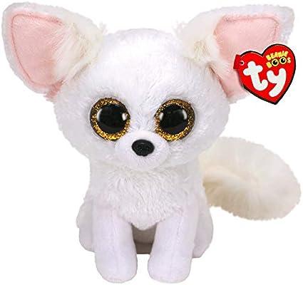 Alaska Stuffed Animals, Amazon Com Ty Beanie Boos Phoenix The Fennec Fox Glitter Eyes Regular Size 6 Inch Toys Games
