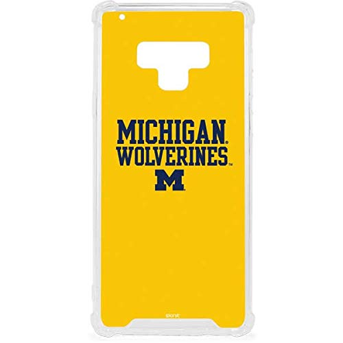Skinit Michigan Wolverines Galaxy Note 9 Clear Case - Skinit Clear Case - Transparent Galaxy Note 9 Cover