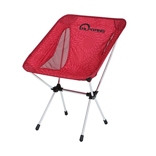 Folding Camping Chairs with Carrying Bag, Compact Ultralight Foldable Beach Chair – Portable Heavy Duty Outdoor Chair for Backpacking, Hiking, Camp, Beach, Fishing