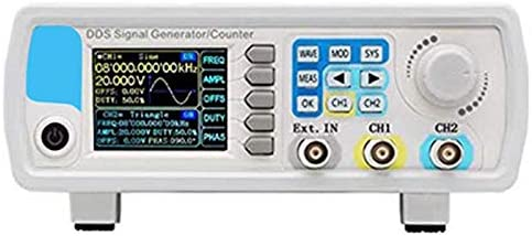 Monland JDS6600 60MHz Digital Control DDS Dual Channel Arbitrary Waveform Function Signal Generator Frequency Meter,UK Plug