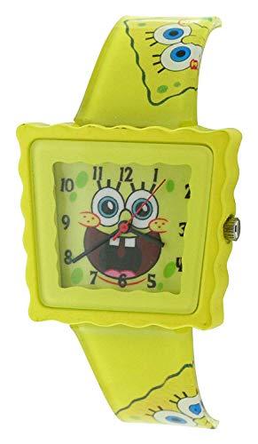 - Nickelodeon SpongeBob Squarepants Yellow Childrens Casual Strap Watch SB39B