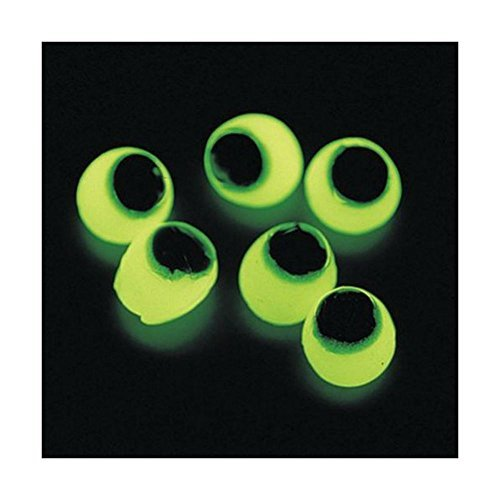 Haunted House Decor (SPOOKY SCARY 24pcs Glow In The Dark Sticky Eyes Halloween Haunted House Decor)