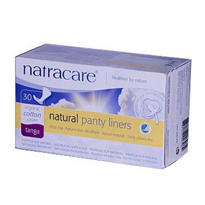 Natracare Natural Thong Style Panty Liners - 30 Pack (Pack of 16) by NATRACARE (Image #1)