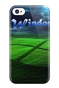 For Iphone Case, High Quality Amazing Window Xp Grass Strom For Iphone 4/4s Cover Cases by icecream design