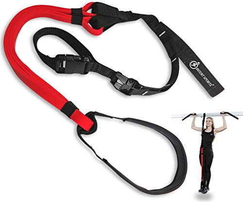 INTENT SPORTS Pull Up Assist Band System - Chin Up FREE Workout eBook! - High-Performance Assist Bands - Resistance Bands - Get Lean and Stronger - For Crossfit or any Workout Program (Patent Pending)