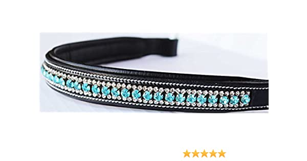 Bridle Parts & Accessories Equestrian BROWBAND Bling Crystal Horse
