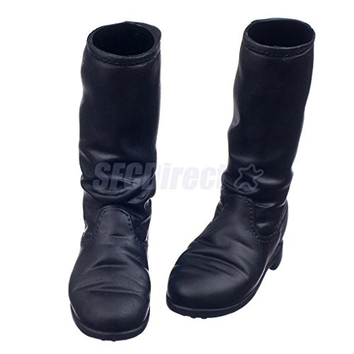 "Shalleen 1/6 Scale Flat Boots Shoes for Female 12"" Action Figure Dragon Sideshow CY Girls"