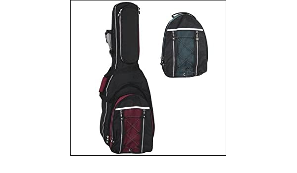 Amazon.com: FUNDA GUITARRA BAJA REF.39B (120x35x31x5cm) Rojo: Musical Instruments
