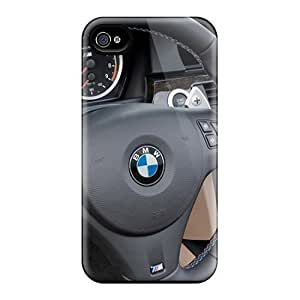 Hot Design Premium VQh4126utFL Tpu Cases Covers Iphone 4/4s Protection Cases(bmw M3 Convertible Dashboard) by lolosakes