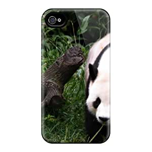 For Maria N Young Iphone Protective Case, High Quality For Iphone 4/4s Animal Panda Skin Case Cover by lolosakes