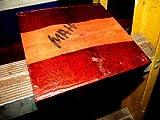 ONE KILN Dried African Mahogany Bowl Blank Lathe Turning Lumber Wood 6 X 6 X 3''