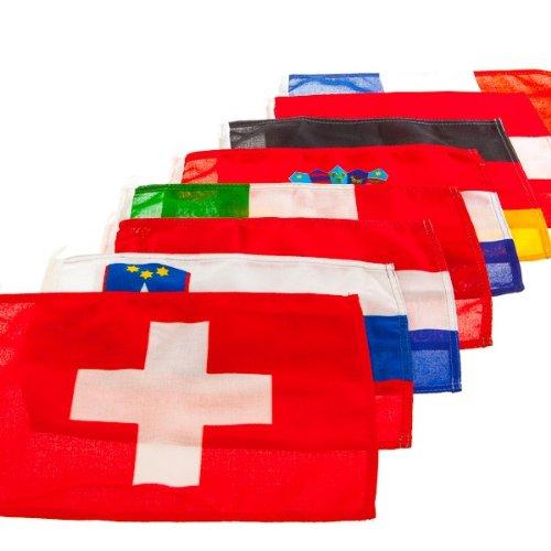 Gastlandflagge nautische Flagge Bootsflagge Länderflagge Fahne , Land:Österreich;Maße:30 x 45 cm