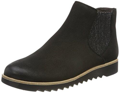 Boots Noir Bleu 805 25300 navy Tamaris Chelsea black Femme qT1E1R
