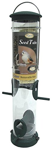 Aspects 424 Medium Spruce Quick Clean Tube Seed Feeder