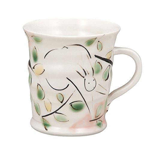 Kutani Yaki(ware) Coffee Mug Rabbit by Kutani