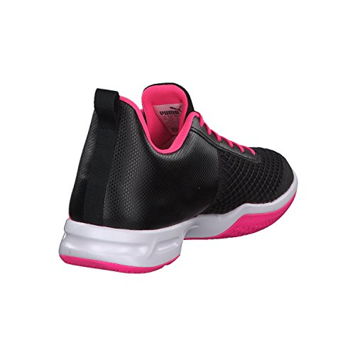 WN's White Puma Puma Indoor Multisport 4 Schuhe KNOCKOUT Damen Rise Black XT PINK AqI6f
