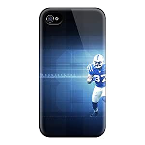 Cute Tpu TimJames Indianapolis Colts Case Cover For Iphone 4/4s