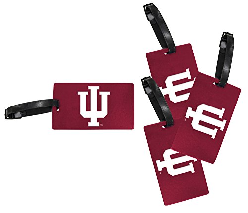 Indiana Hoosiers Luggage Tag 4-Pack by R and R Imports