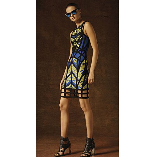Hlbcbg Maniche Donna Blue Senza Vestito fwxXqf6r