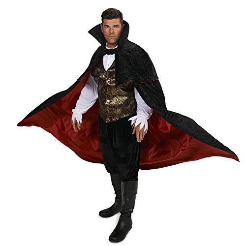 Dream Weavers Costumers - Black Gothic Vampire Male Adult Plus Costume - Plus 1X