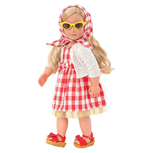 Retro Cloth - Our Generation Retro Deluxe Outfit - Lil Miss Dah-ling
