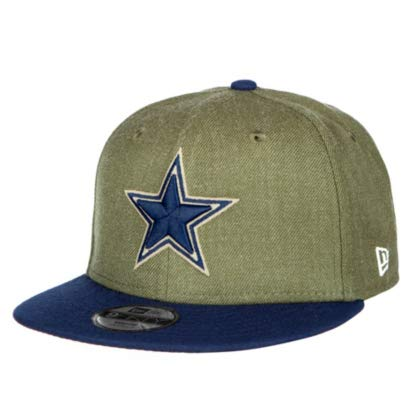 separation shoes 6a7a9 4194c Dallas Cowboys New Era Salute to Service Youth 9Fifty Cap