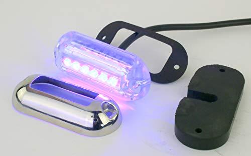 [해외] 방수UNDERWATER MARINE LED POD라이트 – 블루LED,튼튼함,방수12 VDC