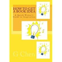 How to Get a Book Idea