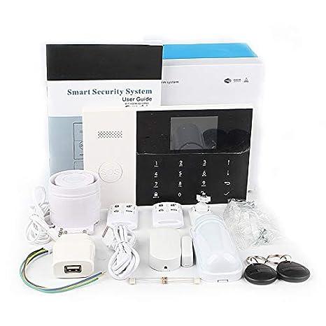 WiFi + gsm Alarma Host Pantalla LCD Táctil Teclado Soporte 3G ...