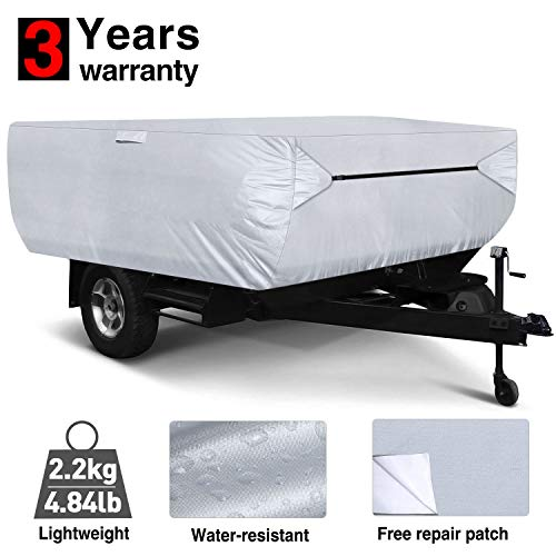 RVMasking Pop Up/Folding Camper Cover Fits 10#039  12#039 Trailers