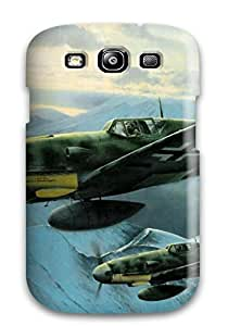 S3 Scratch-proof Protection Case Cover For Galaxy/ Hot Aircraft Military Man Made Military Phone Case