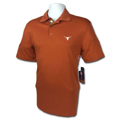 品質が Texas Longhorns半袖ポロシャツby Levelwear ( S ) Small Levelwear S Small B011D8QSH6, オオサキ:9debe1b3 --- a0267596.xsph.ru