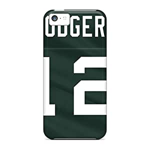 Waterdrop Snap-on Green Bay Packers Cases And Cover For Iphone 5c