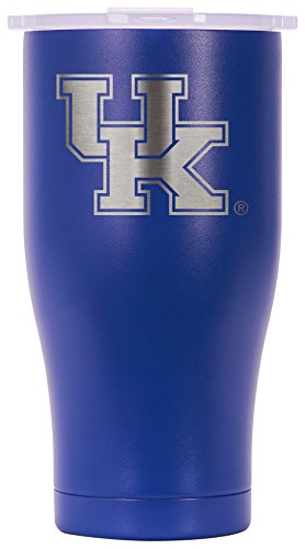 Kentucky Ice - ORCA Chaser Laser Etched University of Kentucky Cooler, Blue, 27 oz