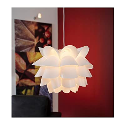 Ikea 600.713.44 Knappa Pendant Lamp, White