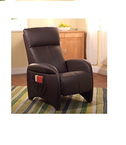 brown seater r single divine home royal in recliner oak dp amazon