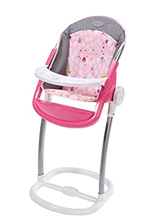 Zapf Creation BABY Born High Chair Toy  sc 1 st  Amazon UK & Zapf Creation BABY Born High Chair Toy: Amazon.co.uk: Toys u0026 Games