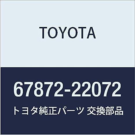 TOYOTA Genuine 67872-22072 Door Weatherstrip