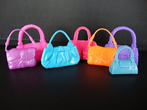Set of 7 Purses Set C Includes the Exact Purses From the Photos Made to Fit Barbie Doll