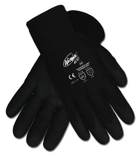 Ninja Guantes con revestimiento de hielo, XL, negro, 1 par ...