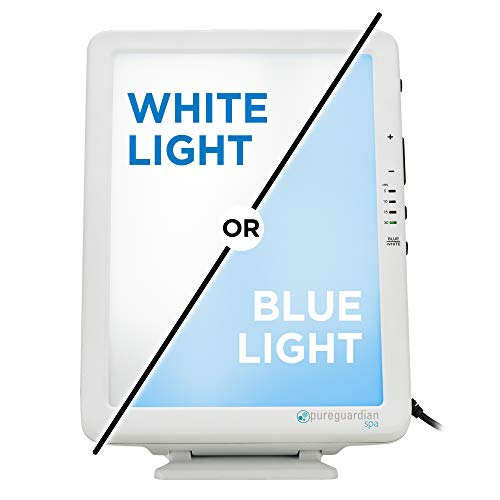 Pure Guardian SPA50CA Portable Tabletop Energy Light, Full Spectrum, 10,000 LUX, 30W LED, Improve Your Mood, Focus…