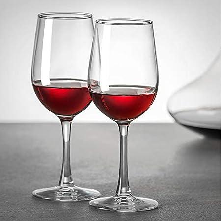 Yuansr Copa de Vino de Cristal, Vino Blanco de Vidrio Grande, Vino Elegante, Duradero y cristalino de Vino, 100% de Vidrio Libre, Pinot Noir, Borgoña. (Size : Style 2)