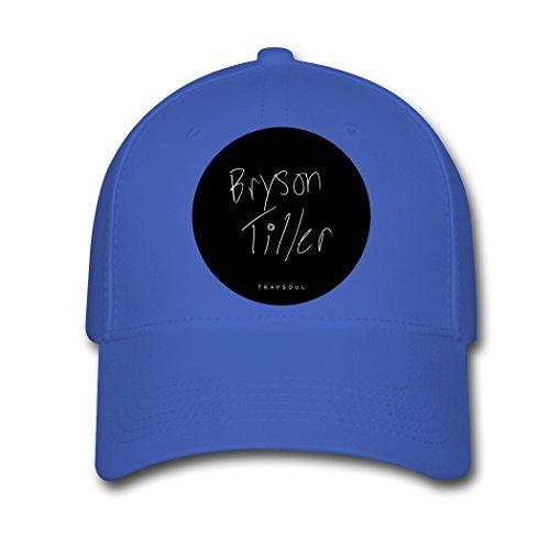 HE Bryson Tiller TRAPSOUL Tour 2016 Adjustable Breathable Baseball caps Royal blue ()