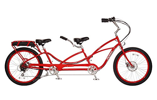 Pedego Tandem Red with Black Balloon Package 48V 15Ah