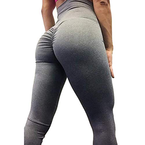 7f857f7ab80 SEASUM Women Scrunch Butt Yoga Pants Leggings High Waist Waistband Workout  Sport Fitness Gym Tights Push