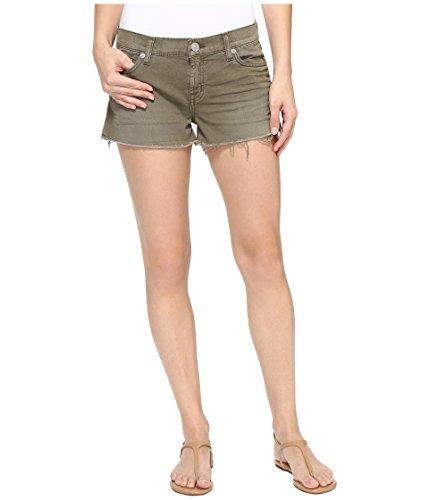 モロニック摂氏度同僚[ハドソン] Hudson レディース Kenzie Cut Off Shorts in Loden Green パンツ Loden Green 32 [並行輸入品]