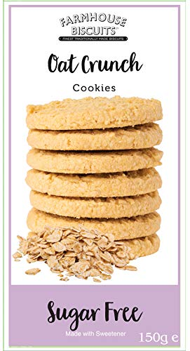 Farmhouse Biscuits – Sugar Free Oat Crunch Cookies 150g (3 Pack)